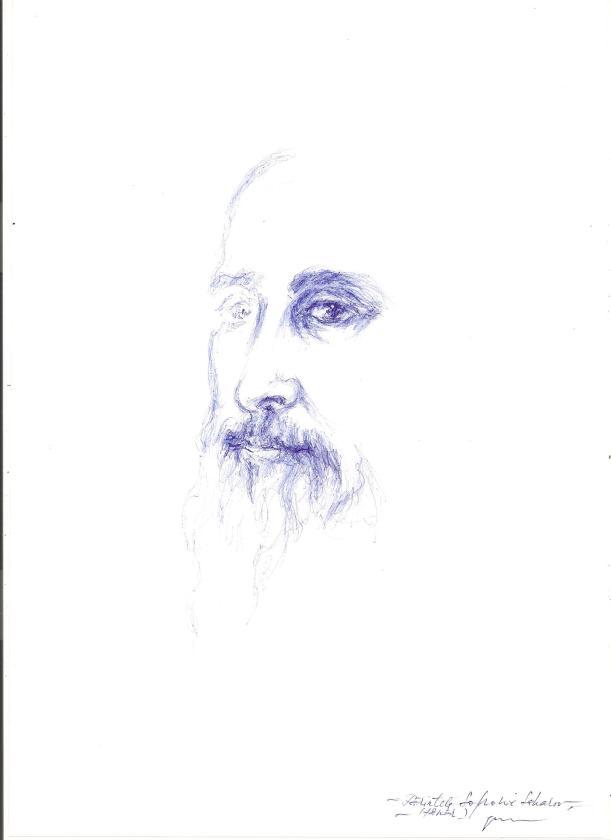Parintele Sofronie Saharov , tanar